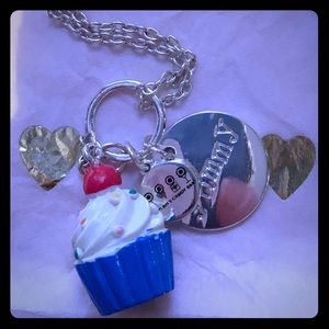 Dylan Candy Cupcake Necklace